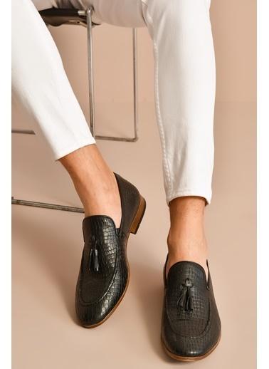 Ziya Hakiki Deri Ayakkabı Siyah